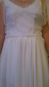 Robe de Mariée sur mesure de Anne-Flore, partie 1