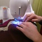 cours de couture foulard