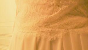 Robe de mariée sur mesure, partie 2