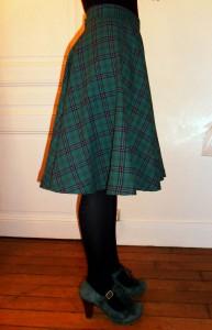 cours de couture à Clichy : la jupe soleil