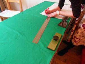 Robe de soirée en mousseline de soie pour Laura, partie 1