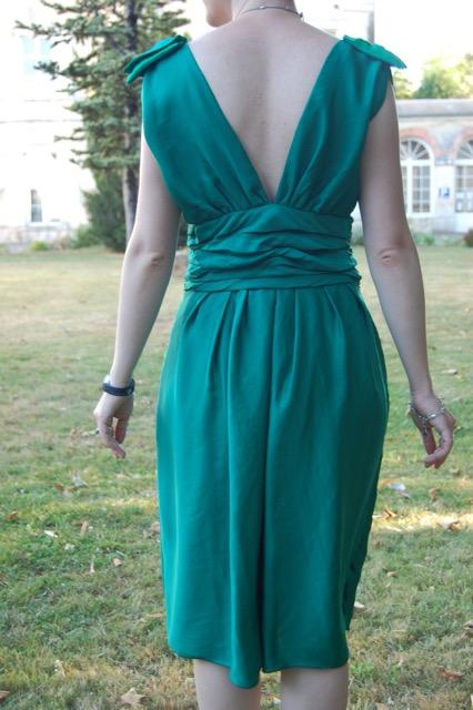Robe de soirée en mousseline de soie pour Laura, partie 2
