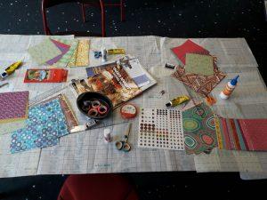 Atelier de customisation pour enfants à la médiathèque Marguerite Yourcenar à Paris