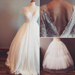 Une robe de princesse pour un mariage de rêve