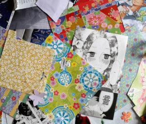 Ateliers créatifs DIY avec customisations d'objets, cartes à offrir et guirlande