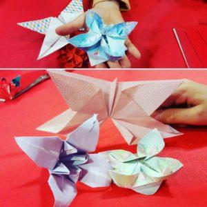 Origami pour la fête du Nouvel An Japonais à Grenoble